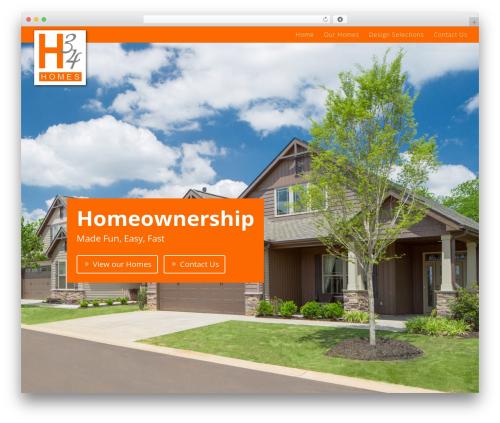 Divi WordPress theme design - h34homes.com
