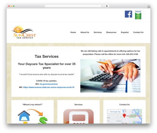 Responsive WordPress theme free download - suncresttaxservice.com