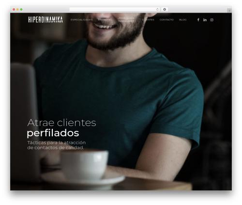 Theme WordPress Salient - hiperdinamika.com