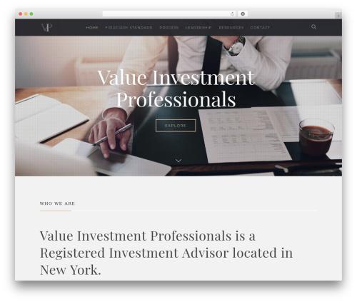 WordPress website template Salient - valueinvestmentprofessionals.com