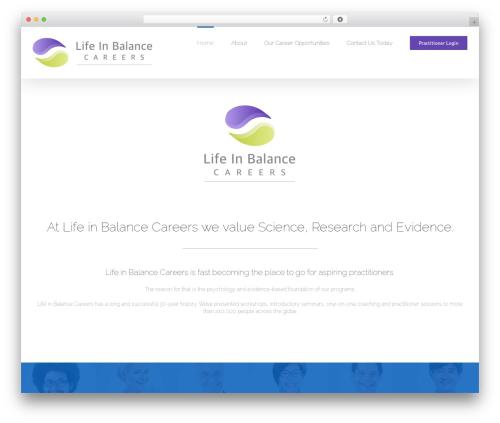 Avada business WordPress theme - yb12coach.com