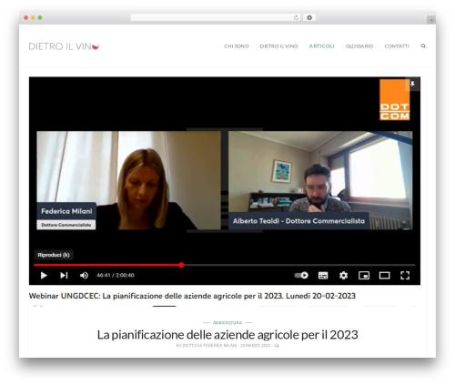 Lukla WP template - dietroilvino.com