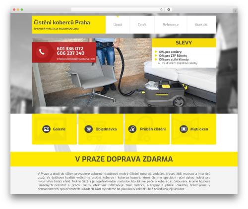 Responsive best free WordPress theme - cistenikobercuvpraze.com