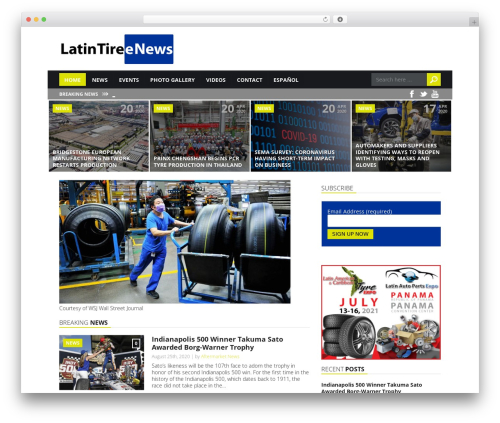 Template WordPress Today (Shared on www.MafiaShare.net) - latintirenews.com