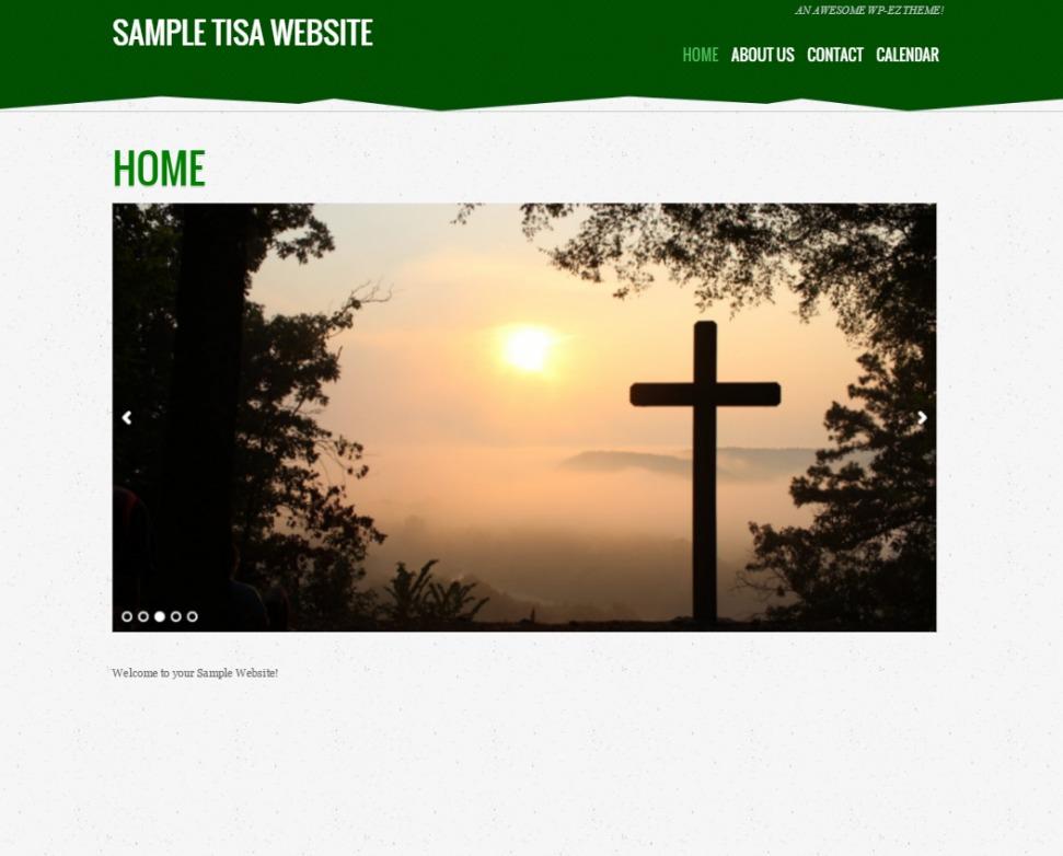 Tisa WordPress theme
