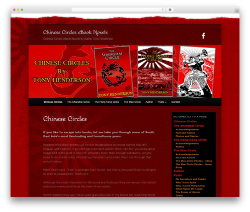 WordPress template NomNom - tony-henderson.com