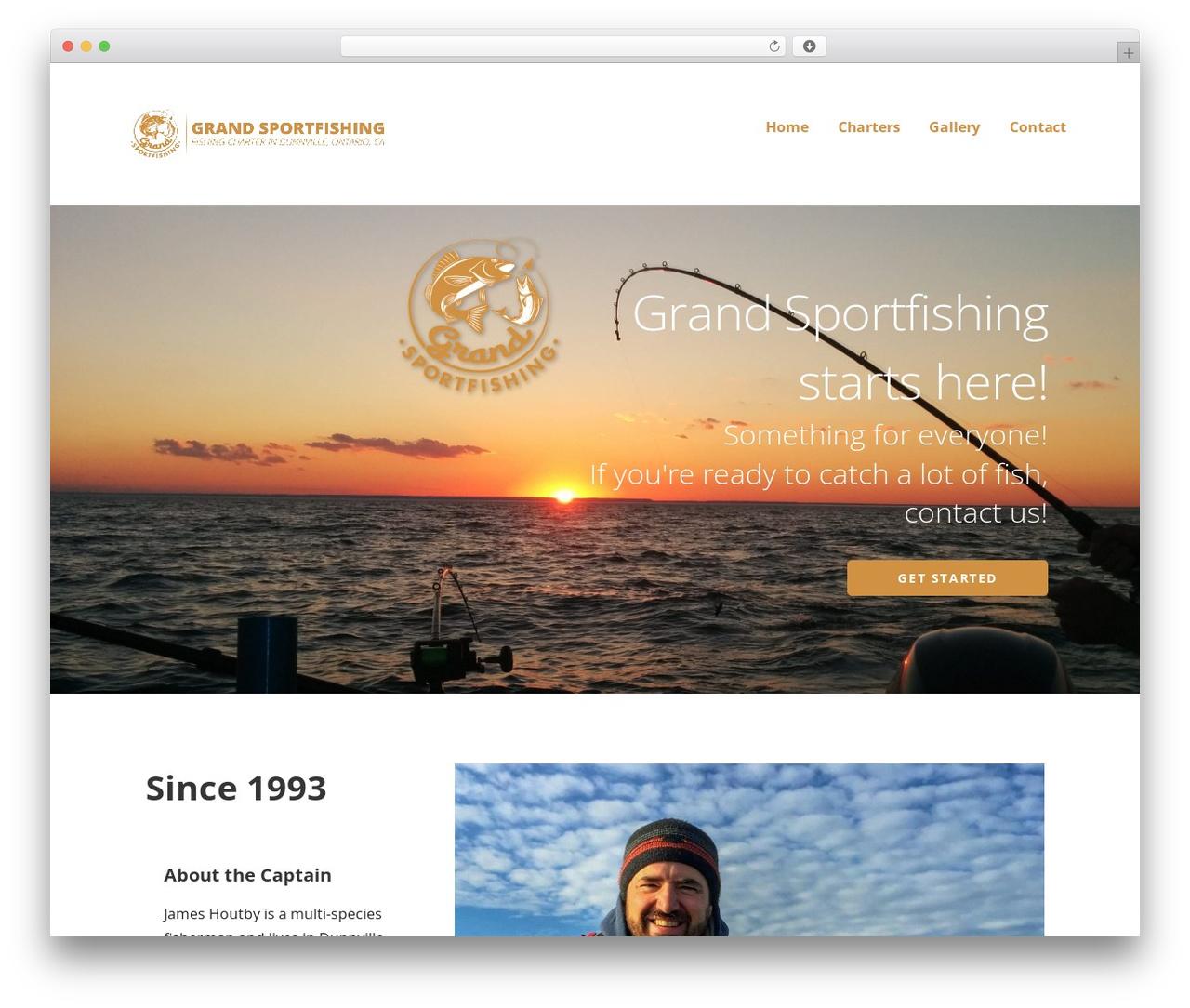 WordPress theme Ascension - grandsportfishing.com