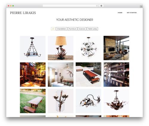 WordPress theme Averly - pierrelirakisdesigns.com
