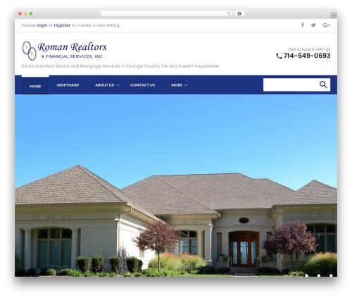 Bellaina WordPress real estate - romanrealtors.com