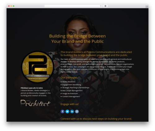 Divi WordPress theme design - pipkinscommunications.com