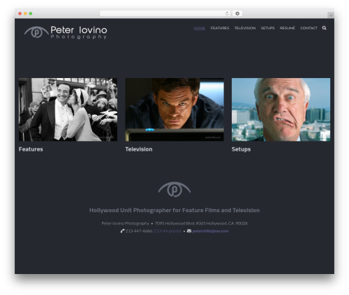 Johnblack wallpapers WordPress theme - peterstills.com