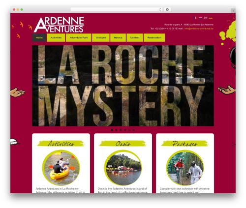 Responsive free WordPress theme - ardenneaventures.com