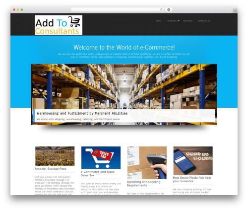 Simplicity Lite free WordPress theme - addtocartconsultants.com