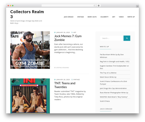 Cell WordPress theme download - collectorsrealm3.com