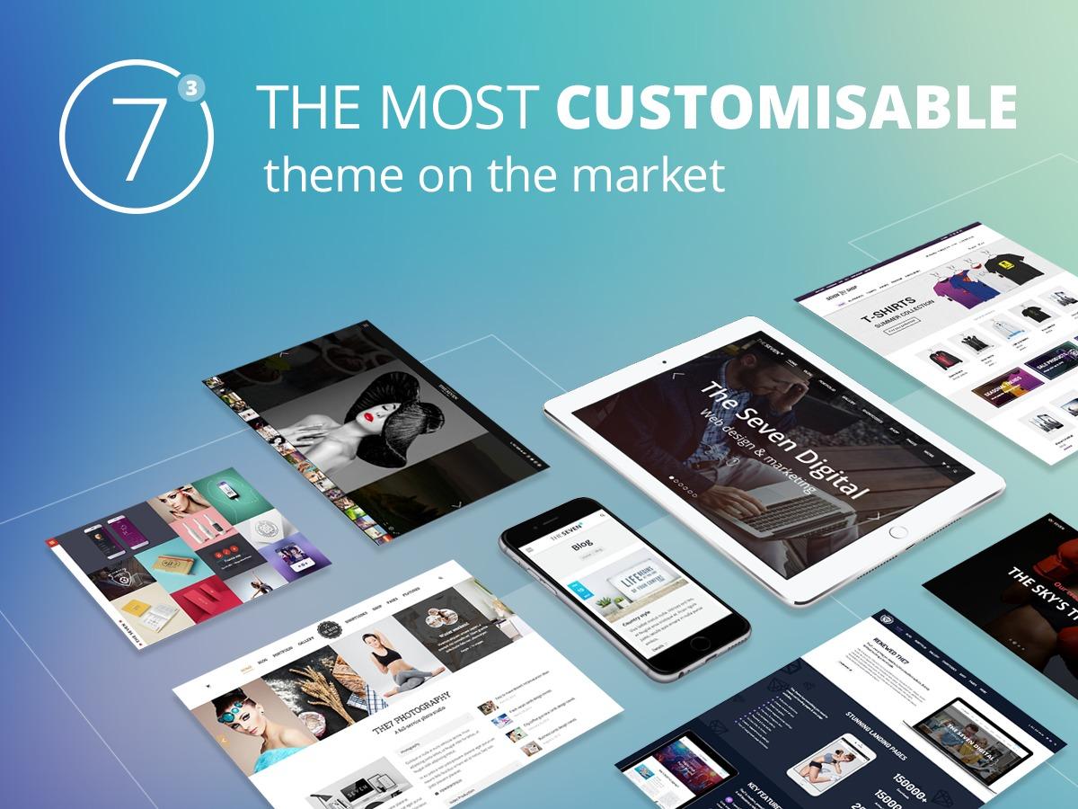 The7 WordPress shopping theme