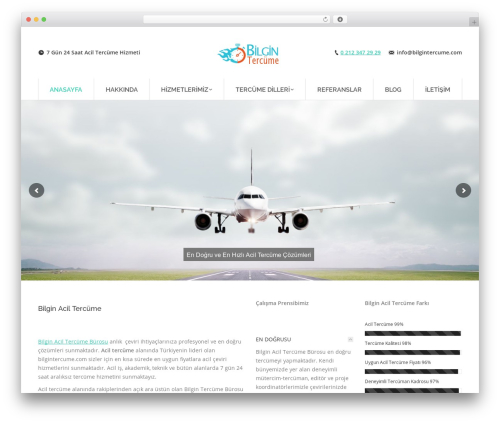 The7 WordPress theme - bilgintercume.com