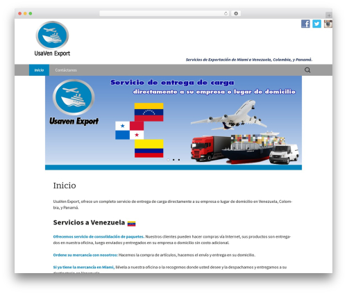 Twenty Thirteen best free WordPress theme - usavenexport.com