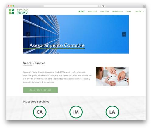 Osmosis WordPress theme design - estudiobisay.com