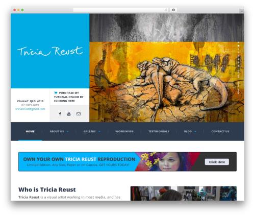 Best WordPress theme Adrenaline PT - triciareust.com.au