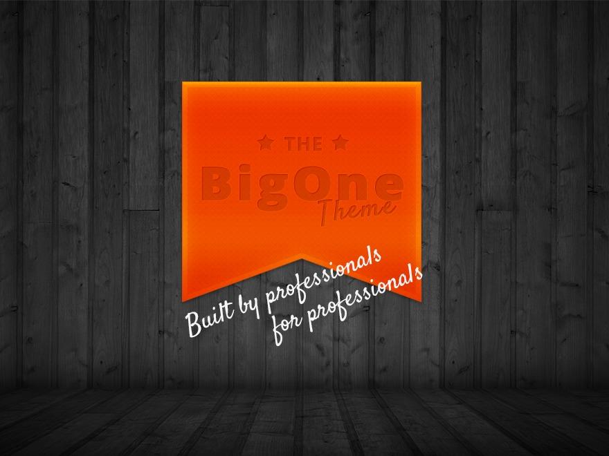 BigOne top WordPress theme
