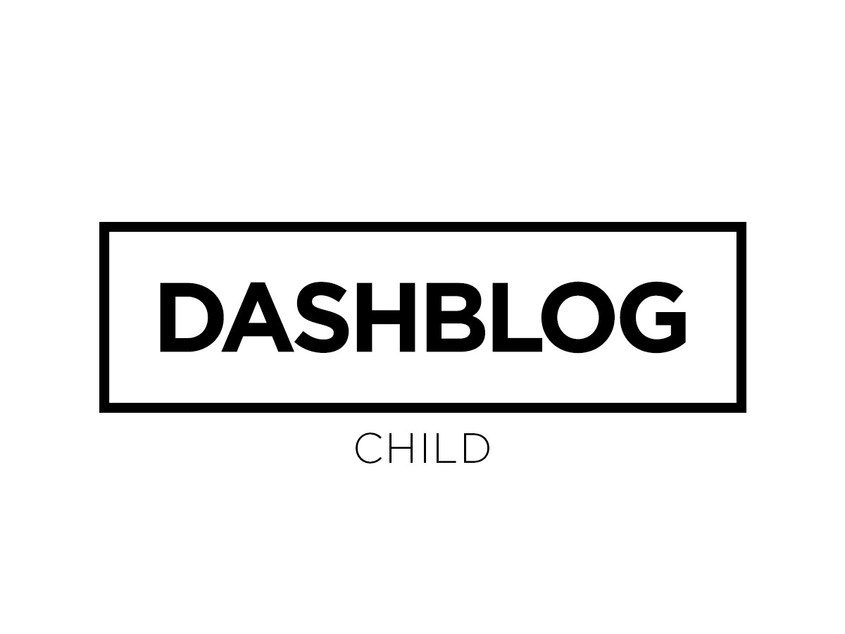 Dashblog Child WordPress blog theme