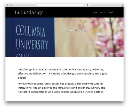 Hayden business WordPress theme - tanisdesign.com