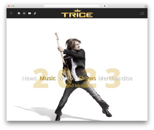 Lucille best WordPress theme - triceofficial.com