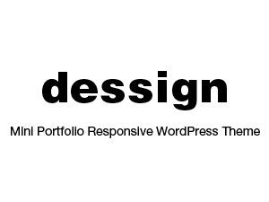 Mini Portfolio Responsive Theme best portfolio WordPress theme