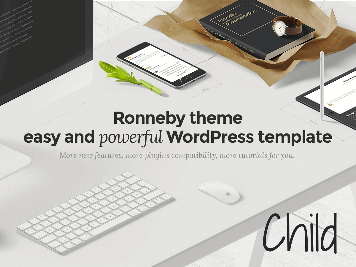 Ronneby Child Theme best WordPress template