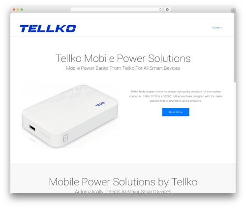 Satellite7 WordPress theme - tellko.com
