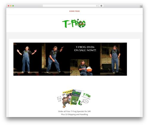 Simplex Munk WP template - t-frog.net