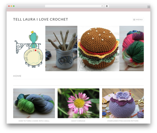 Sketch theme WordPress free - telllaurailovecrochet.co.uk