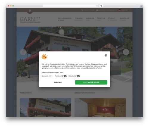 WordPress sitepress-multilingual-cms plugin - tschurtschenthaler.eu