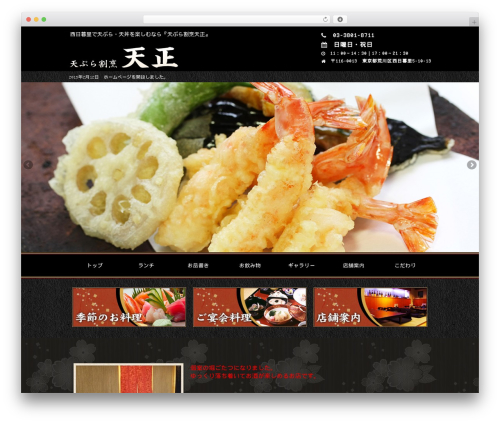 Template WordPress frc21_black - tenmasa.jp