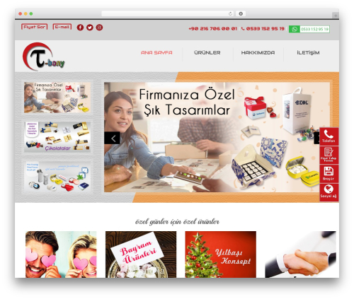 Theme WordPress Glamo - t-bony.com