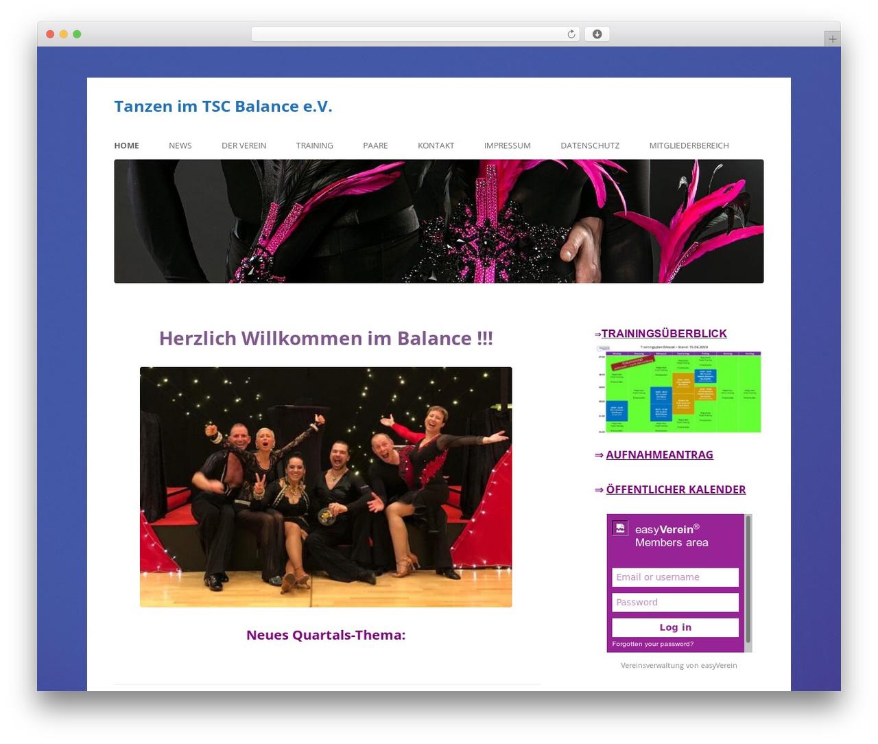 Twenty Twelve template WordPress free - tsc-balance.de