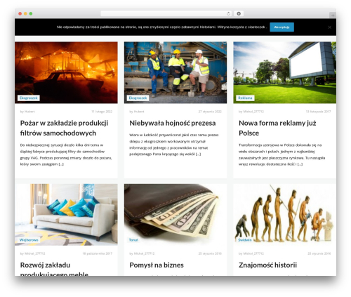 Wiles WordPress website template - taniwegiel.ovh