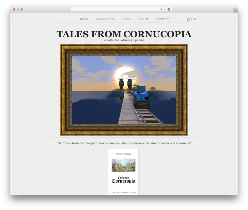 WordPress theme Poetry - talesfromcornucopia.com