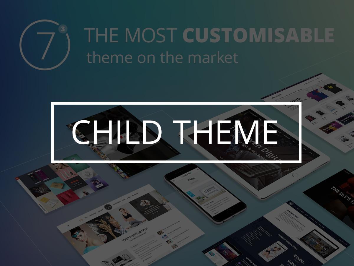 WordPress theme the7dtchild