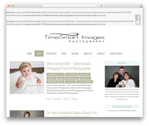 Free WordPress Responsive Videos by Angie Makes plugin - timesmartimagesblog.com