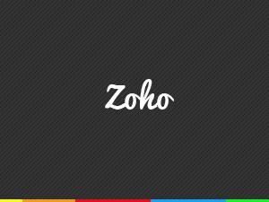 Zoho personal WordPress theme