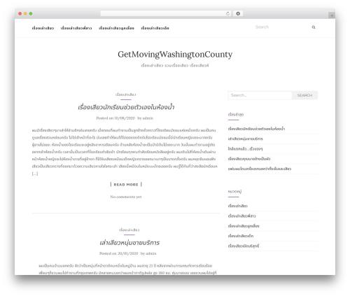 Activello premium WordPress theme - getmovingwashingtoncounty.com