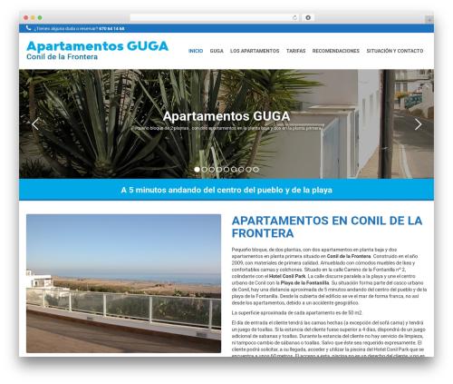 Qaro best WordPress template - apartamentosguga-conil.com