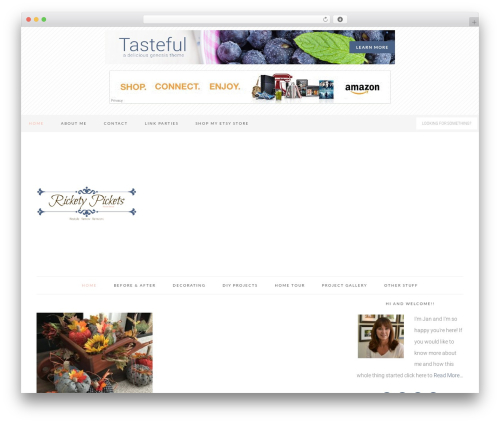 Tasteful Theme WP template - ricketypickets.com