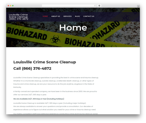 WP theme Awesome Business - louisvillecrimescenecleanup.com