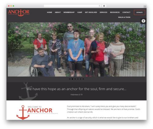Best WordPress theme Anchor Association - anchor-association.com
