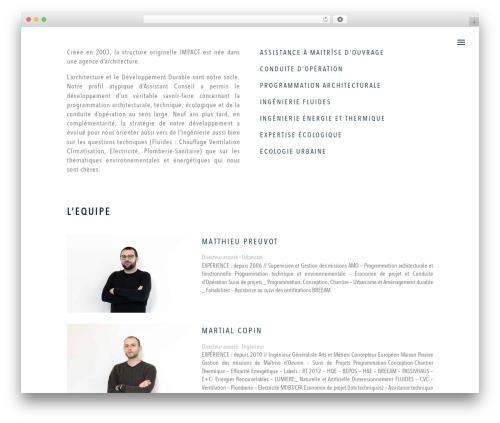 Divi WordPress theme - impact-ing.com
