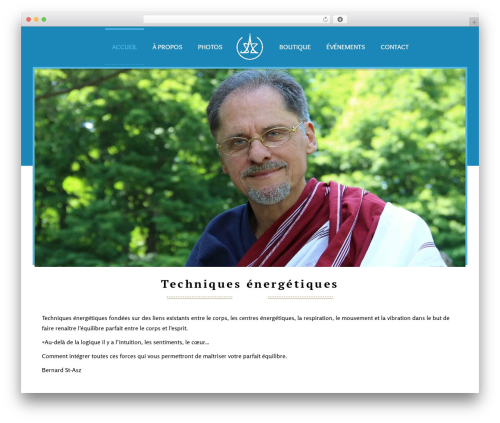 Kriya best WordPress theme - guerisonssecretes.com