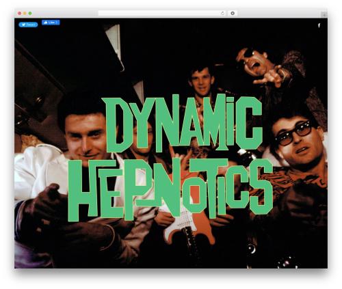 Speaker WordPress template - dynamichepnotics.com
