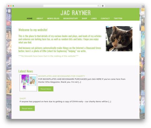 Template WordPress Profiles - jacrayner.com